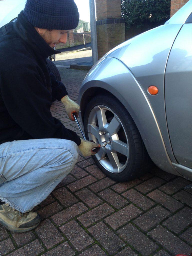 Mototyres 2 u mobile puncture repair Ford StreetKA in Spalding, Lincolnshire